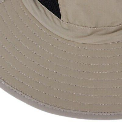 Unisex Boonie Bucket Hat Wide Nylon Sun Visor Outdoor Fishing Hat