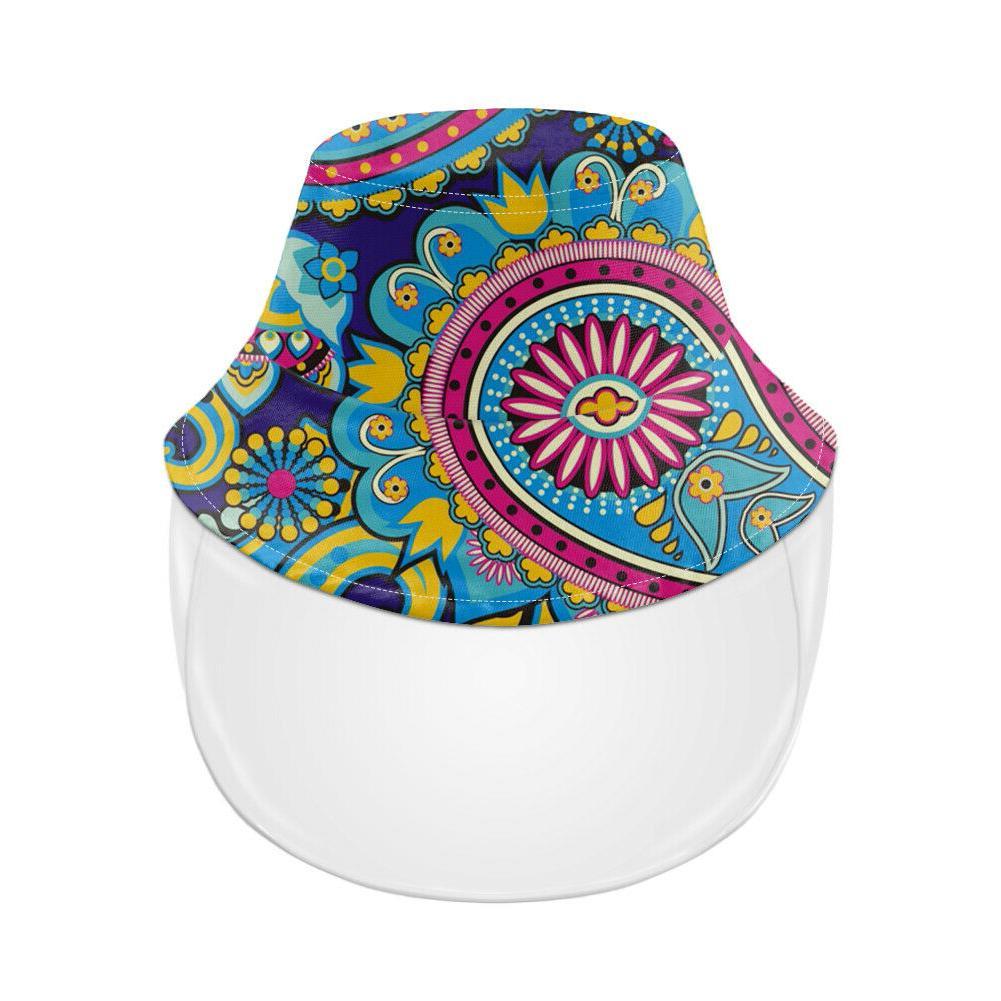 Paisley Full Cap Windproof Hats