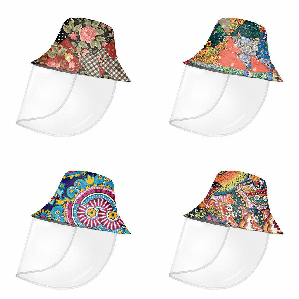 paisley bucket hat for women girls protective