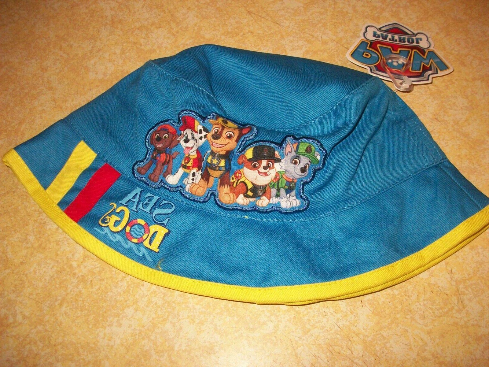 paw patrol toddler boys blue summer bucket
