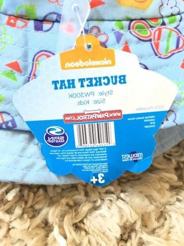 PAW PATROL Toddler Boys Blue/Yellow Bucket Beach Hat OSFM