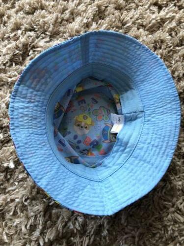 PAW PATROL Blue/Yellow Bucket Sun Beach Hat OSFM