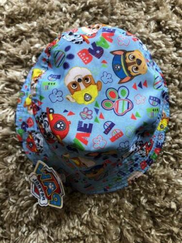 PAW PATROL Toddler Boys Blue/Yellow Style Beach Hat OSFM
