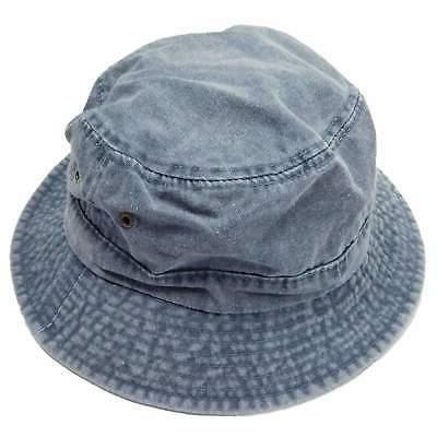 Pigment Dyed Bucket Hat Plain Color Fishing Hat - MCI Caps