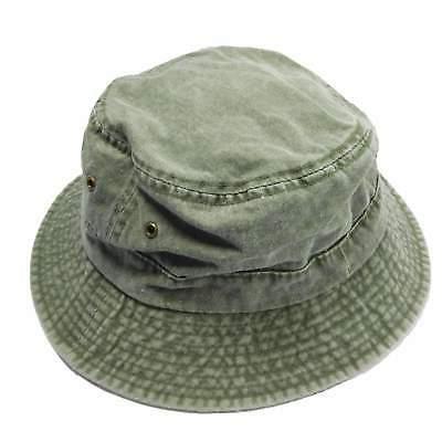 Pigment Twill Bucket Hat Color Fishing Hat MCI Caps