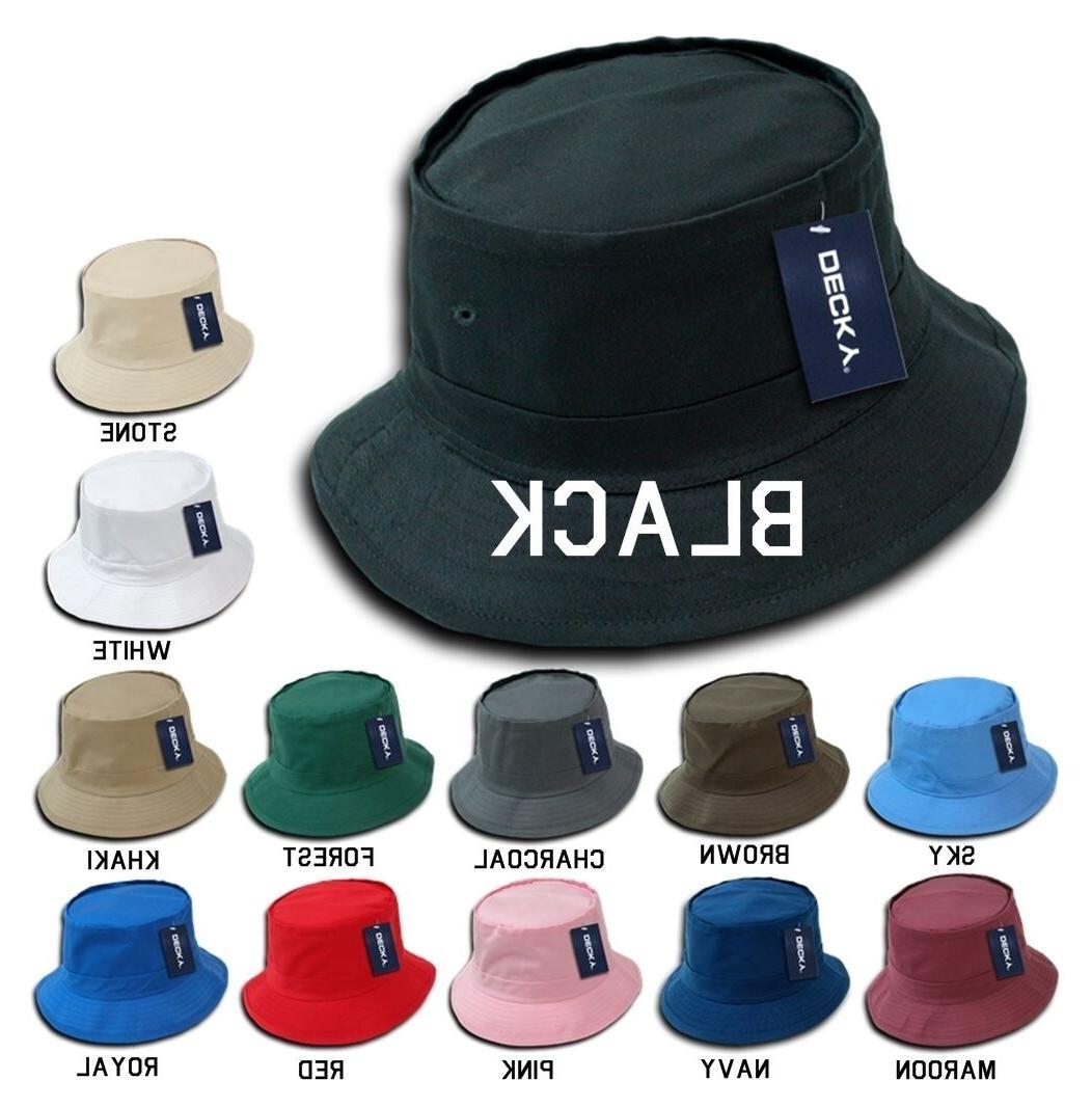 DECKY Plain Blank Fisherman's Bucket Hat