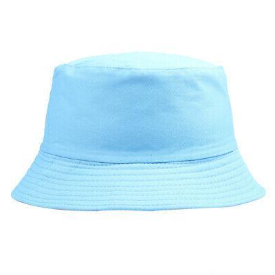 Bucket Solid Women Men Summer Sun Hats Gracious