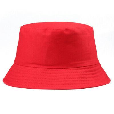 Bucket Hat Fishing Solid Color Men Gracious