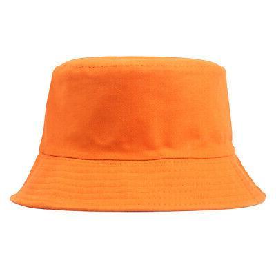 Bucket Hat Solid Men Summer Gracious