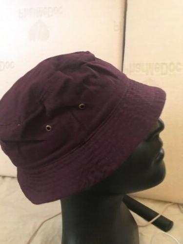 Purple Hat Size L Beach
