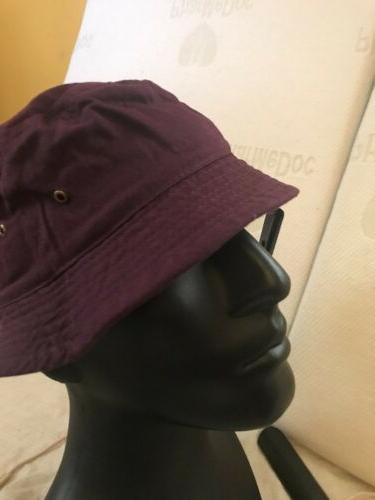 Purple Hat Fishing Cap hop Size Beach