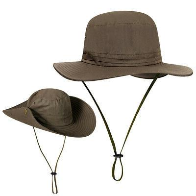 Unisex Booney Hat UV Protection Boonie Hunting Safari Cap Sun Hat