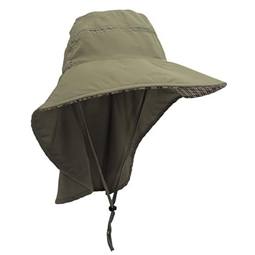 Home Dry Hats Flap Hat Army