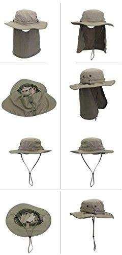 Home Drying Protection Outdoor Sun Hat with Cap