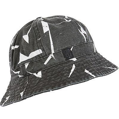 rapture black bucket cap hat mahterap
