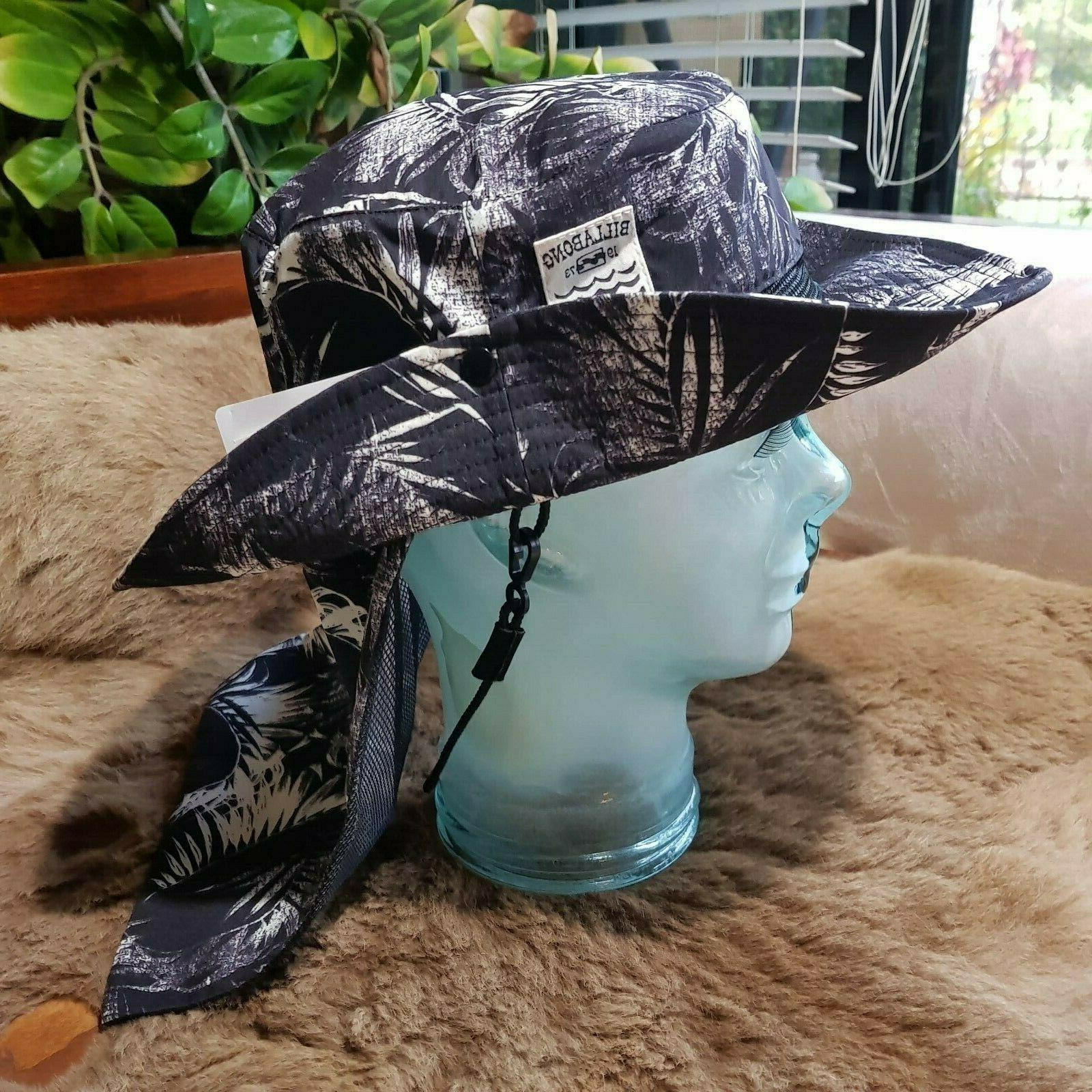 rare tropical surf fishing hiking hat nwt