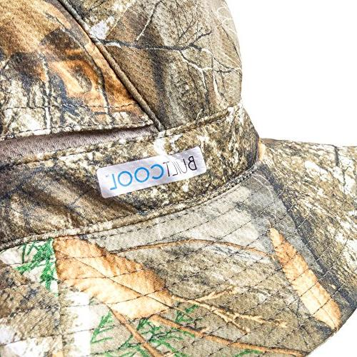Builtcool Men's Bucket/Boonie Hat activated cooling technology- for hunting fishing and all outdoor activities Size