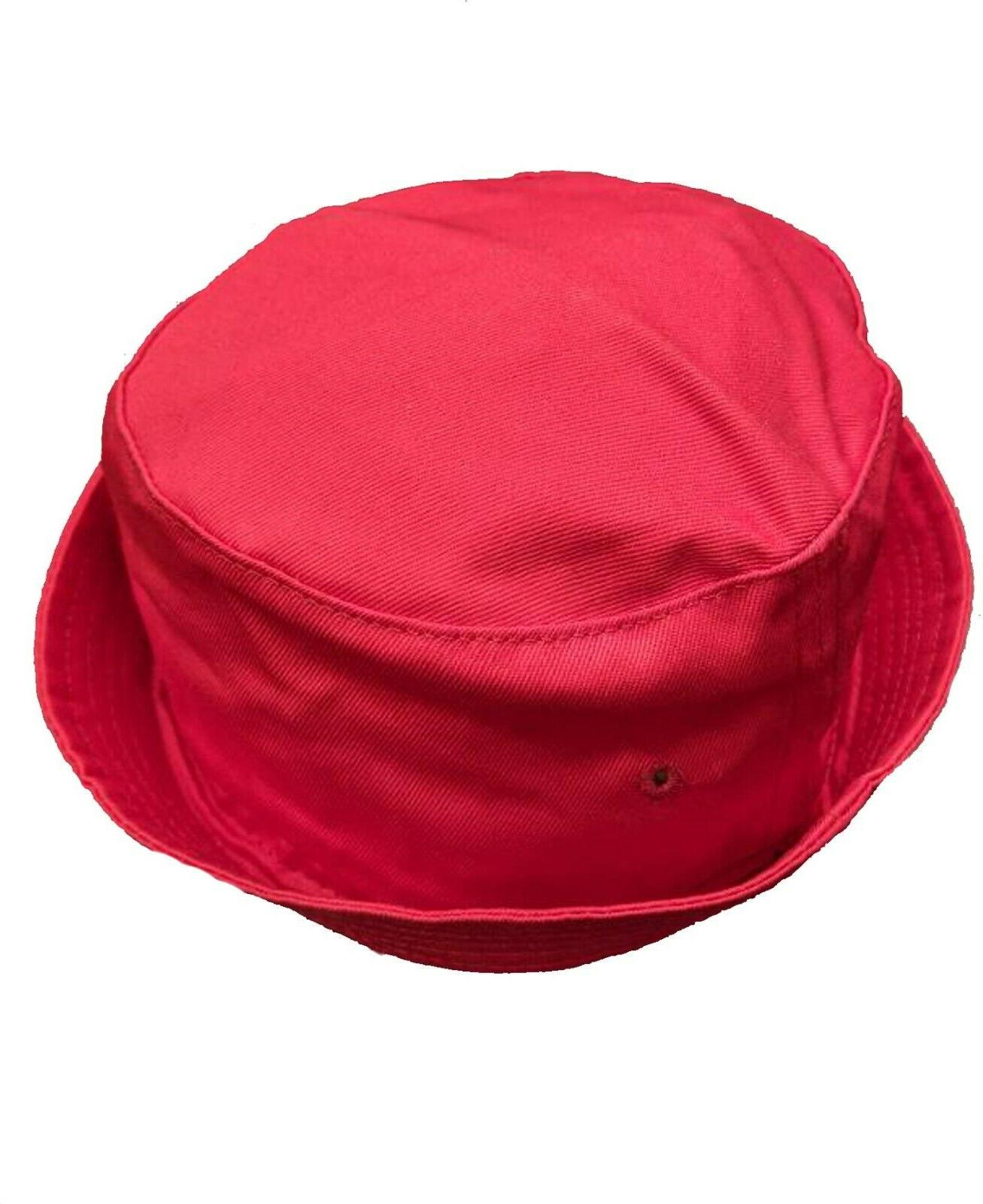 Red Canvas Bucket for Baby or