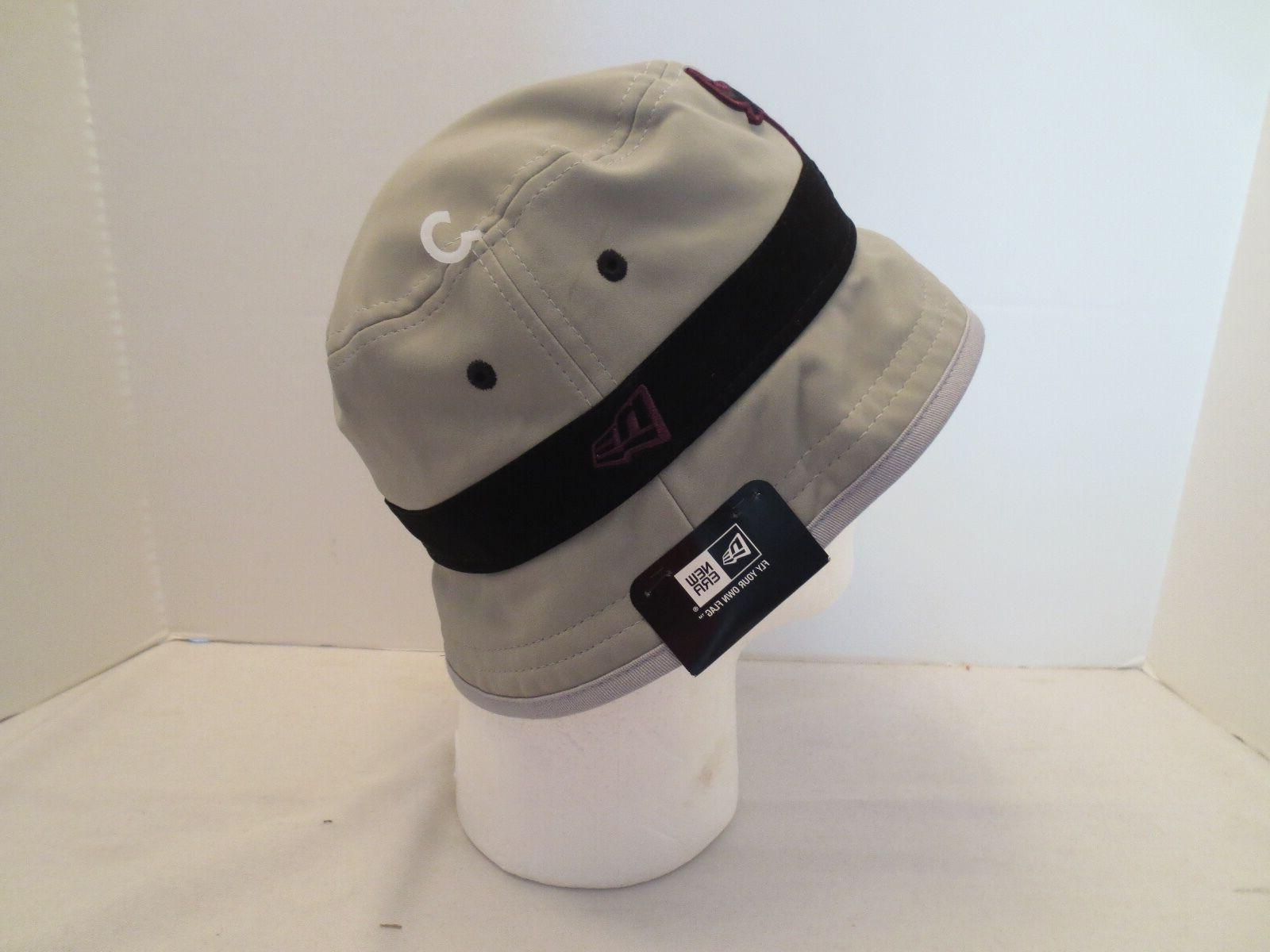 NEW ERA VII BORDEAU BUCKET CAP BULLS LARGE L NWT