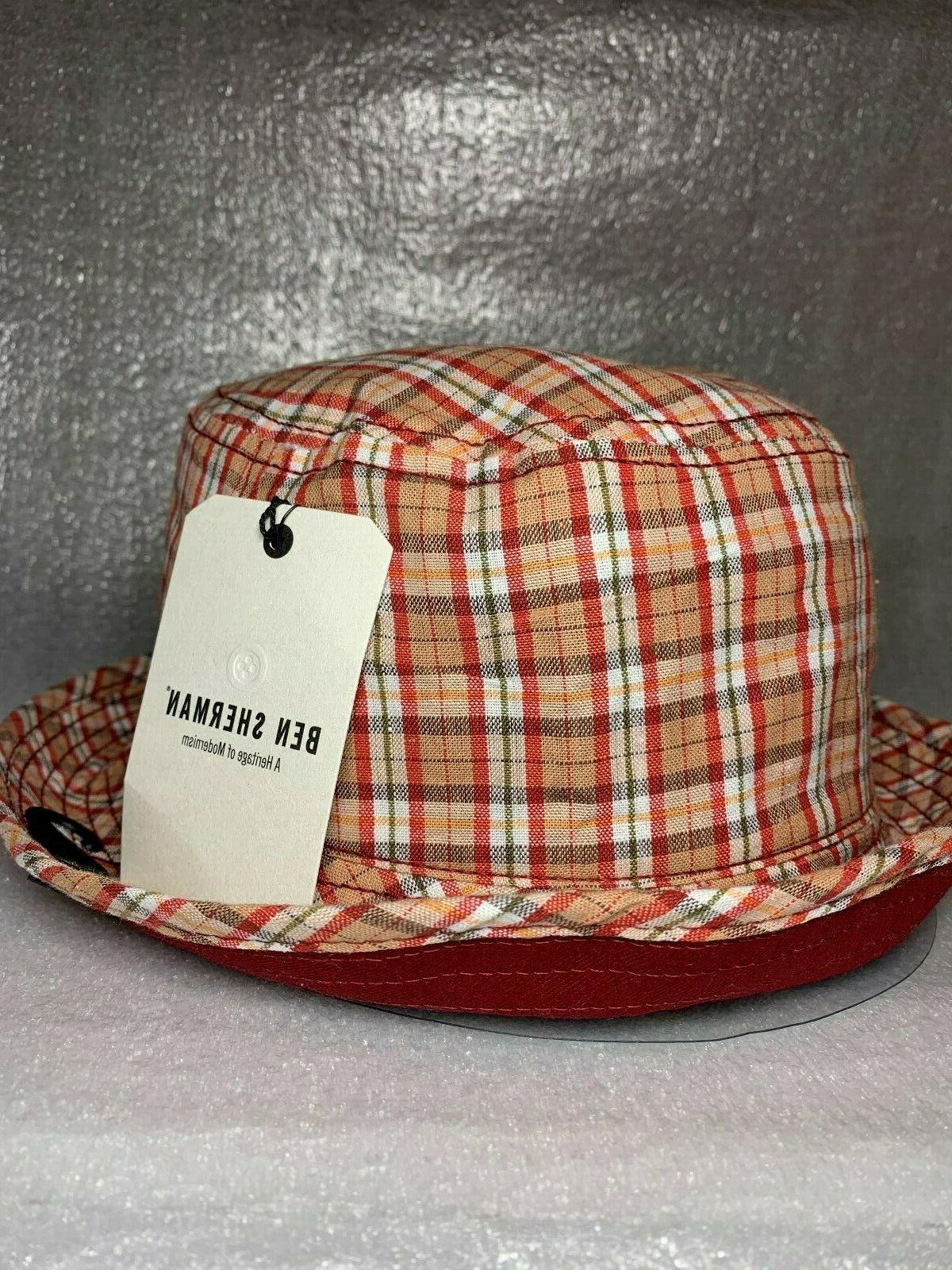 BEN SHERMAN REVERSIBLE BUCKET HAT