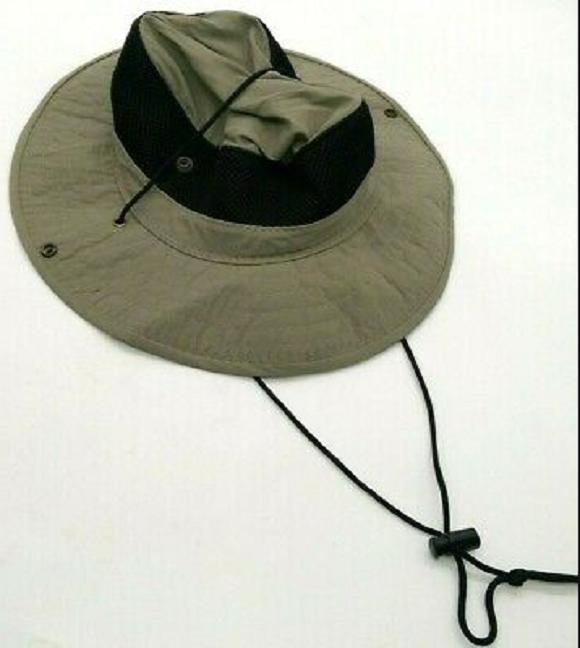 DORFMAN PACIFIC ROLL UP BUCKET HAT, MEDIUM