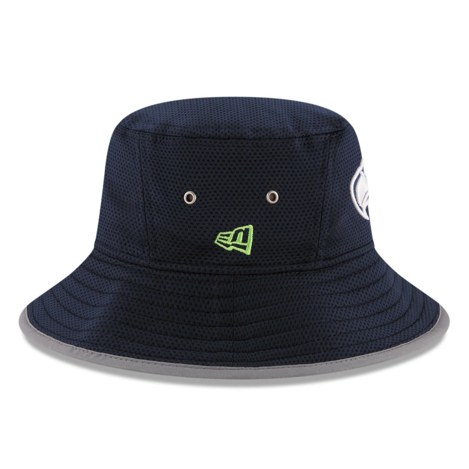 Seattle New Era NFL Floppy Sun Hat Cap Men's