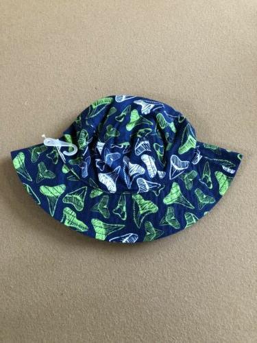 shark tooth bucket hat