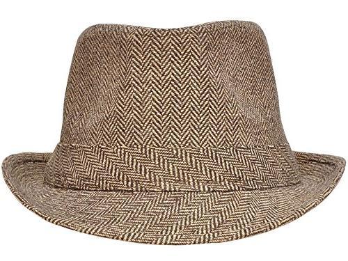 Simplicity Brim Crown Wool Fedora Hat