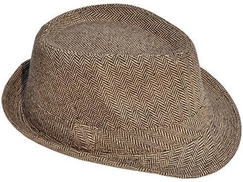 Simplicity Crown Wool Hat 3071_Brown/Tan1