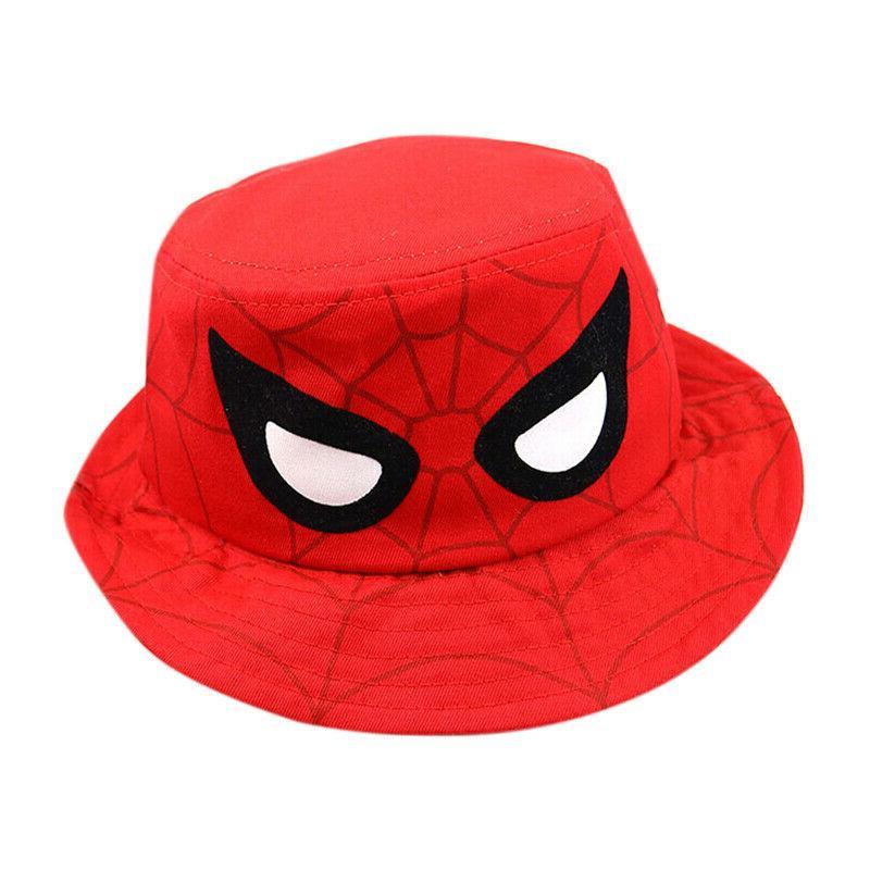 Kids Boys Girl Bucket Hat Wide Brim Sun Hats Beach Fishing Hat