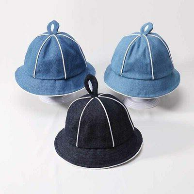 Spring Baby Bucket Denim Hats Reversible Caps Headwear US