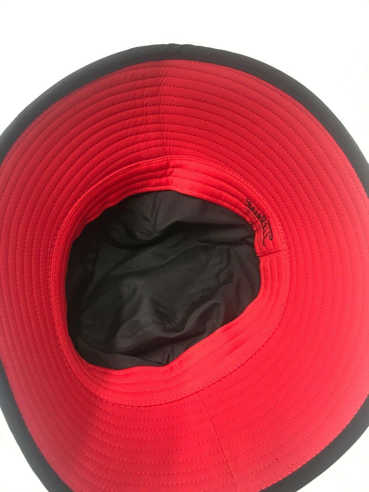 Titleist StaDry Hat Black Red - Pick Size