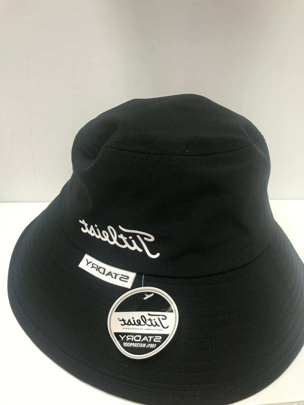 Titleist Performance Bucket Hat Black -