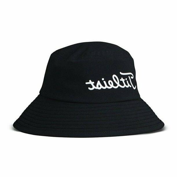 stadry performance bucket hat black and red