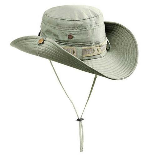 Summer Anti-UV Wide Brim Fishing Cap