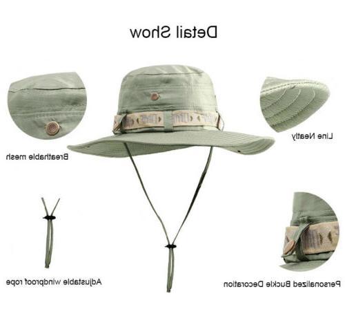 Summer Anti-UV Sun Protect Bucket Hat Cap