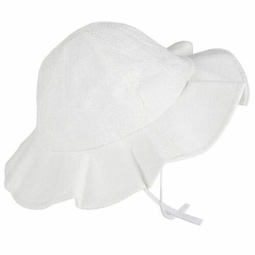 Summer Hat Cotton Child Cap Brim Beach Hats