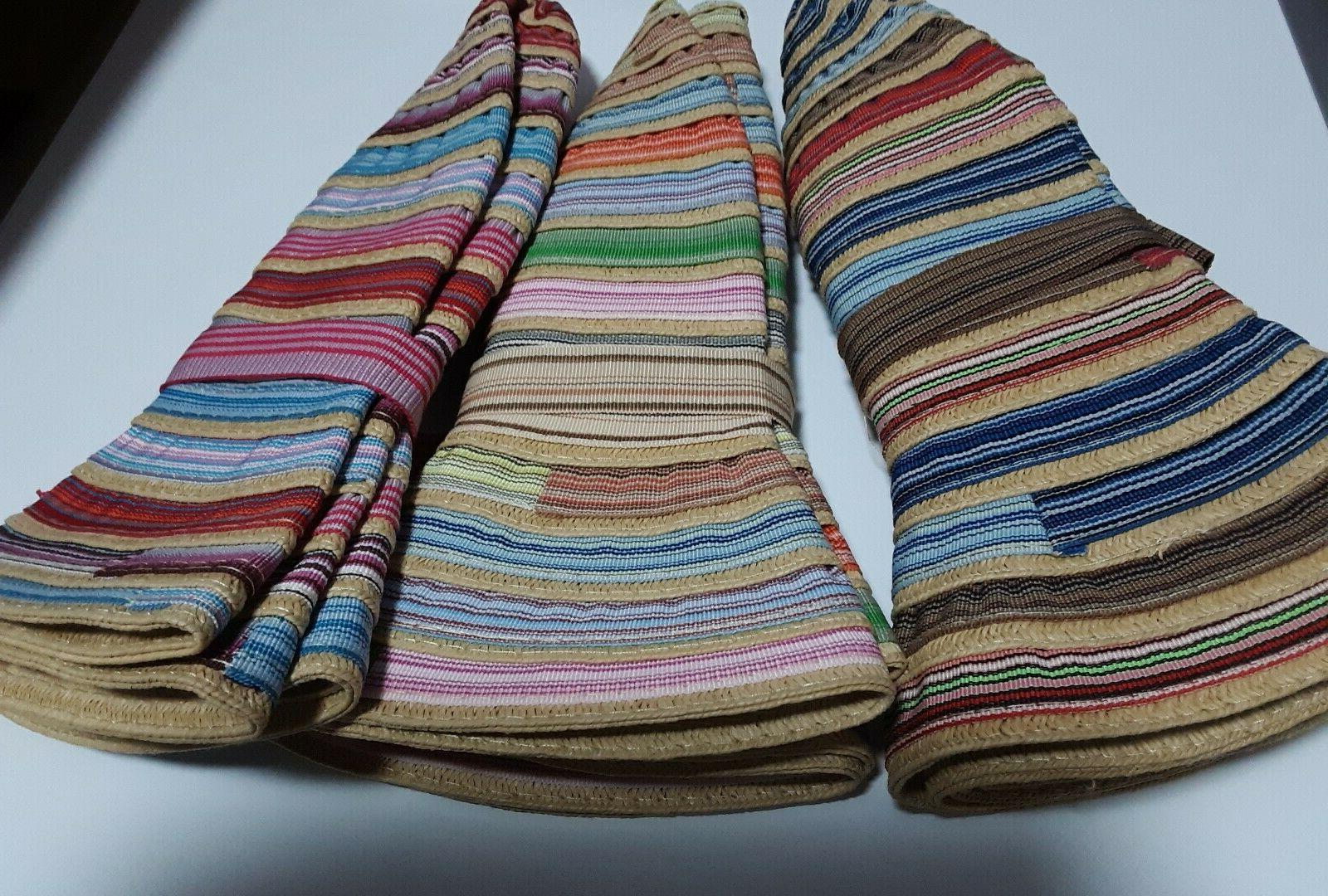 Summer colors bank bucket multicolored ladies/girls one