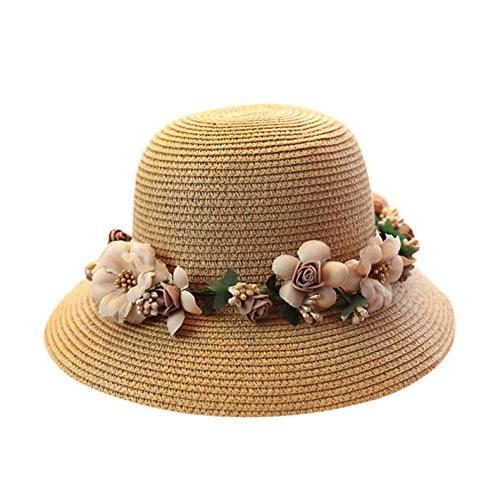 WKING handmade flower protection hat foldable sunhat