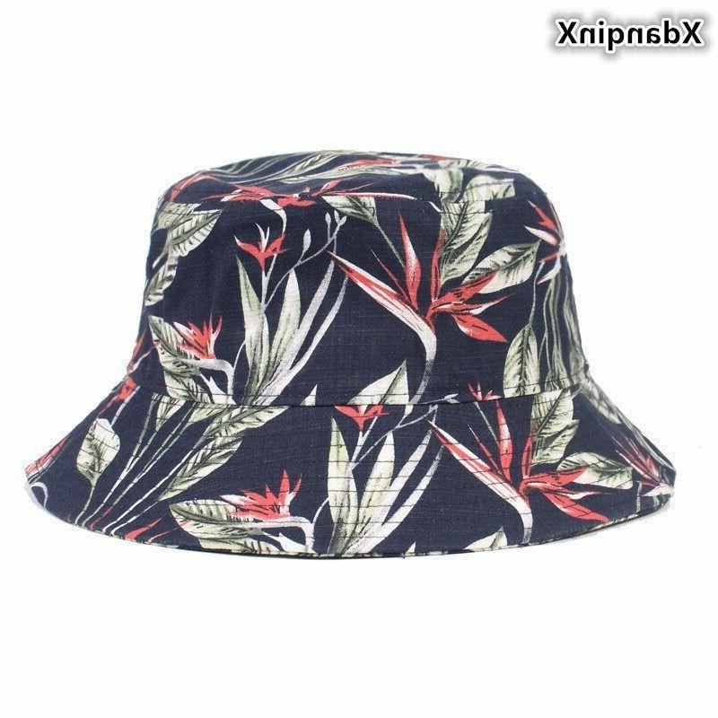 summer ladies cotton cloth bucket hats fashion