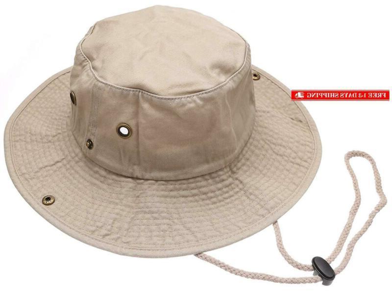 summer outdoor boonie hunting fishing safari bucket