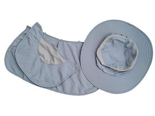 DDYOUTDOOR Outdoor Cap Neck Face Flap Hat Brim