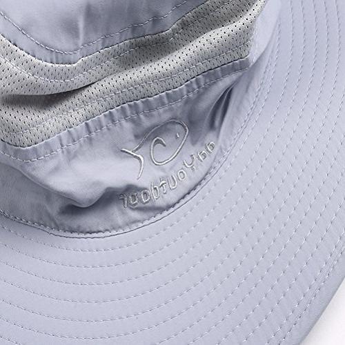 DDYOUTDOOR Fashion Outdoor Sun Cap Flap Hat Brim