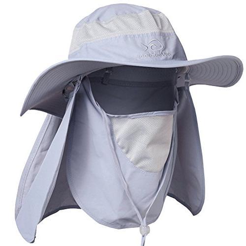 summer sun protection fishing cap