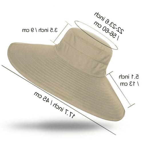 Wide Fisherman Hat UV Boonie