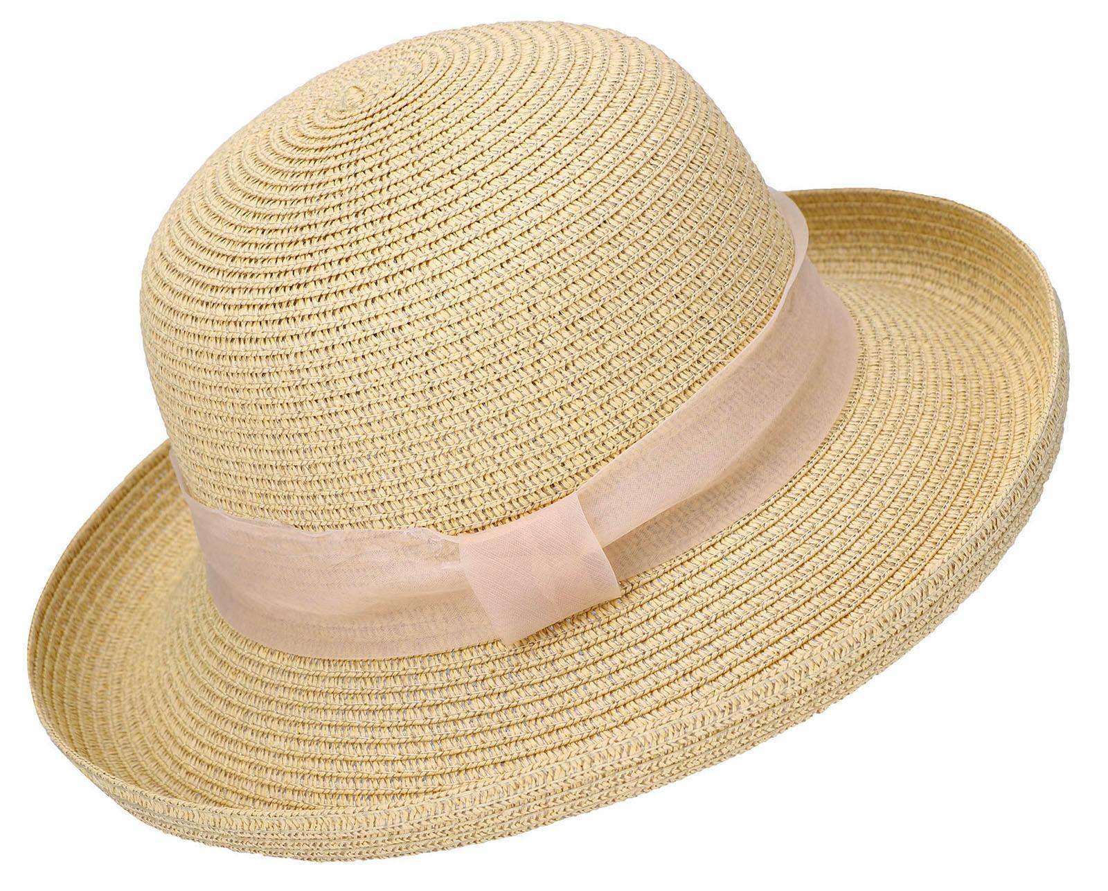 summer women lady straw hat beach structured