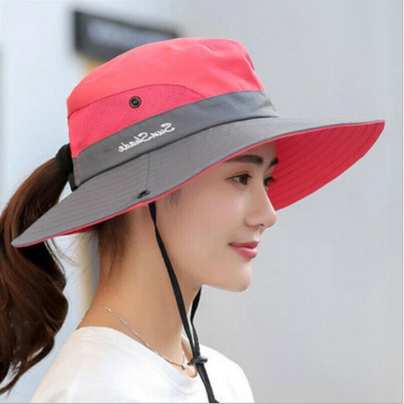 Summer Bucket Fishing Cap Wide Hats