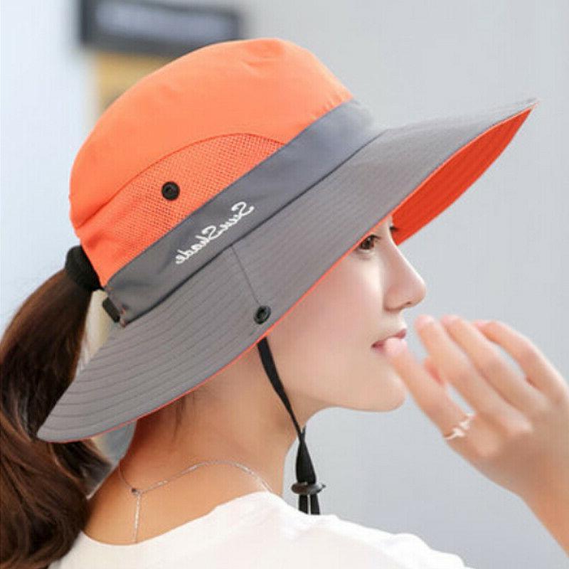 Summer Sun Bucket Fishing Hiking Cap Wide UV Hats