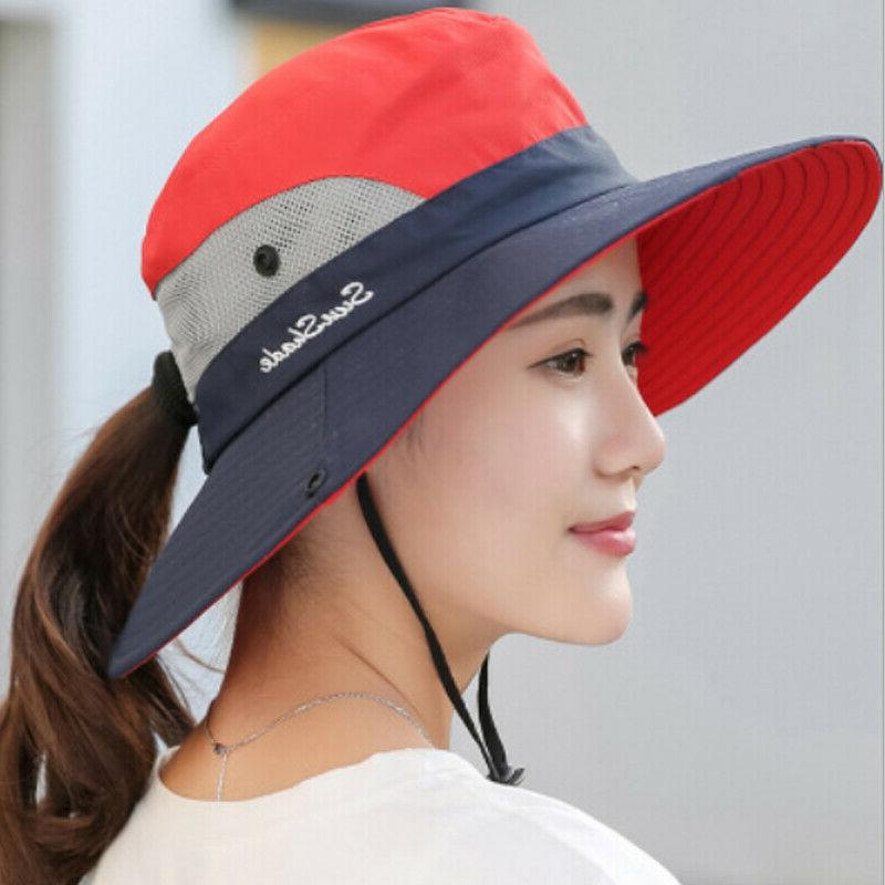 Summer Hat Bucket Fishing Hiking Wide Brim UV Hats