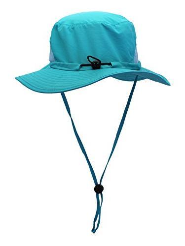 Panegy Sun UPF 50+ Mesh Boonie Hunting Hiking Hat with Sring